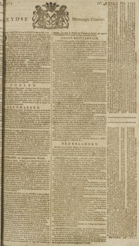 Leydse Courant 1772-04-20