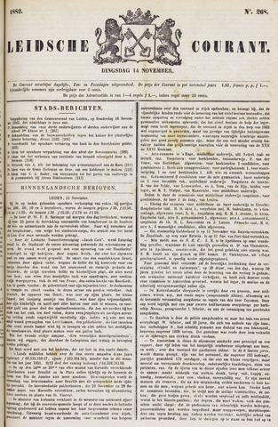 Leydse Courant 1882-11-14