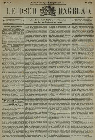Leidsch Dagblad 1890-09-11