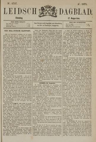 Leidsch Dagblad 1875-08-17