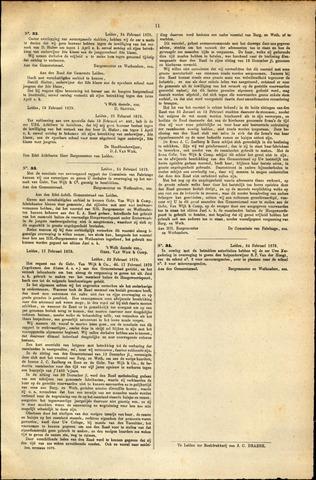 Handelingen van de Raad 1879-02-24