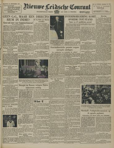 Nieuwe Leidsche Courant 1947-09-22