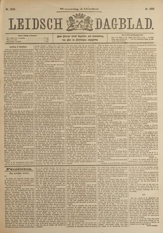 Leidsch Dagblad 1899-10-04