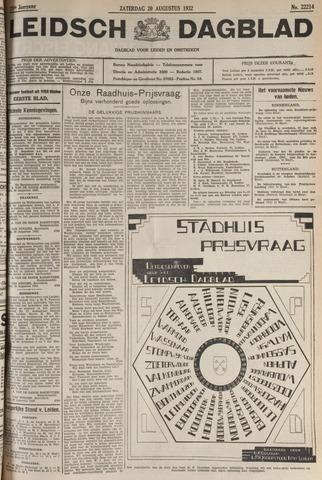 Leidsch Dagblad 1932-08-20