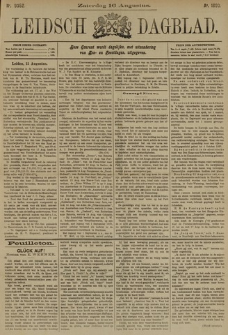 Leidsch Dagblad 1890-08-16