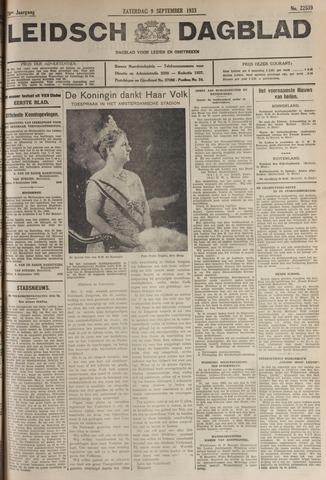 Leidsch Dagblad 1933-09-09