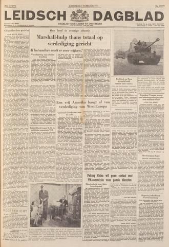 Leidsch Dagblad 1951-02-03