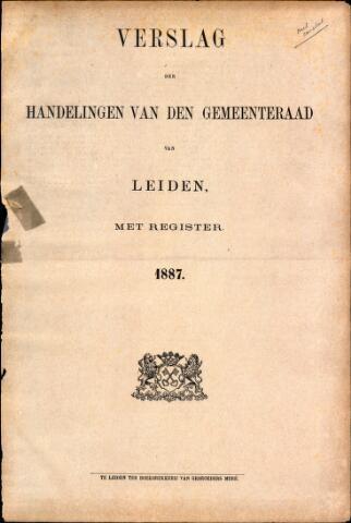 Handelingen van de Raad 1887-01-01