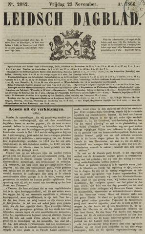 Leidsch Dagblad 1866-11-23