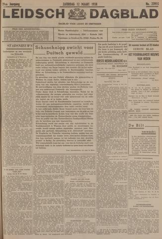 Leidsch Dagblad 1938-03-12