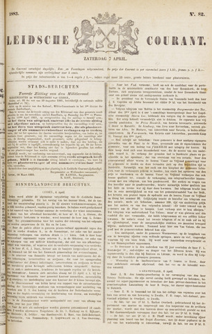 Leydse Courant 1883-04-07