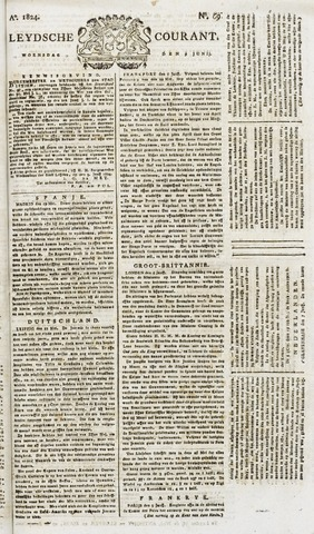 Leydse Courant 1824-06-09