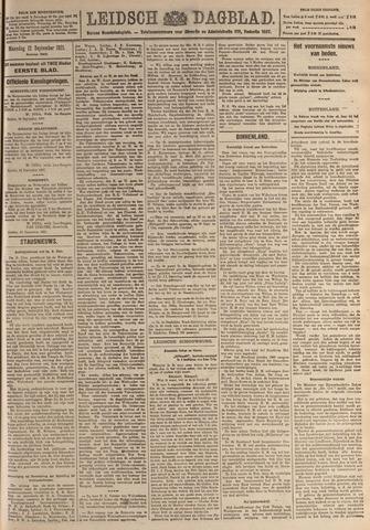 Leidsch Dagblad 1921-09-12