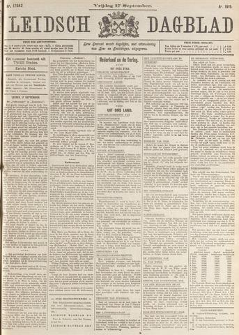 Leidsch Dagblad 1915-09-17