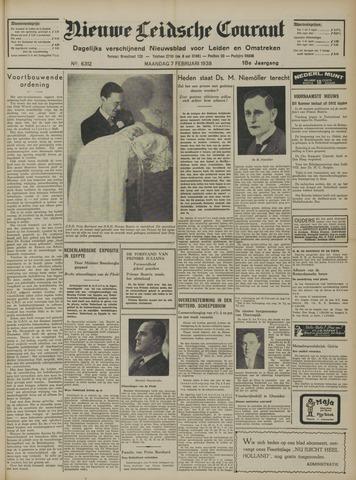 Nieuwe Leidsche Courant 1938-02-07