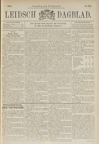 Leidsch Dagblad 1893-02-14