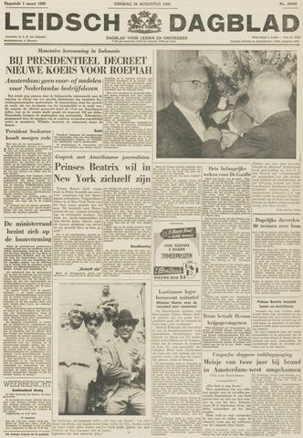Leidsch Dagblad 1959-08-25