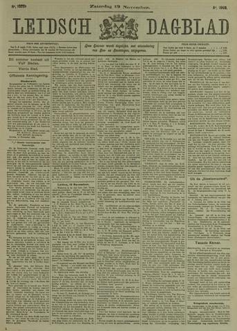 Leidsch Dagblad 1909-11-13