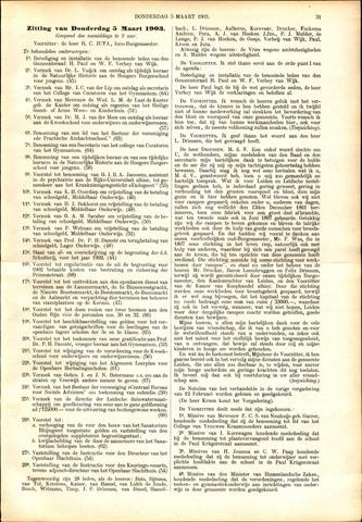 Handelingen van de Raad 1903-03-05