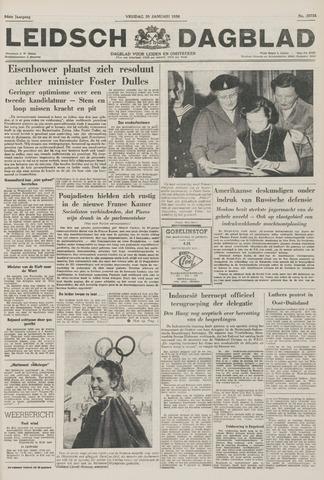 Leidsch Dagblad 1956-01-20