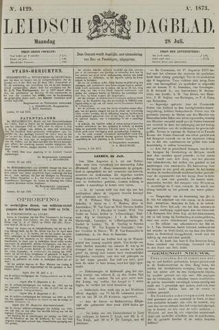 Leidsch Dagblad 1873-07-28