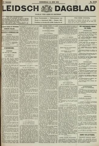 Leidsch Dagblad 1932-06-16