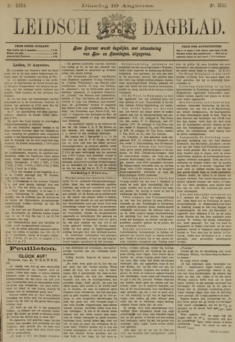 Leidsch Dagblad 1890-08-19