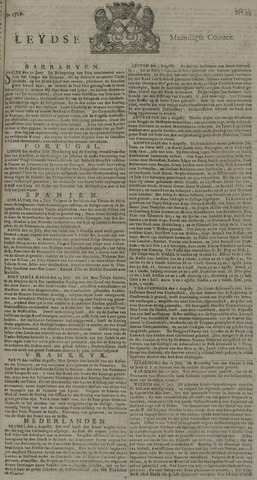 Leydse Courant 1729-08-08