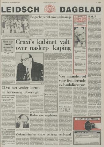 Leidsch Dagblad 1985-10-17