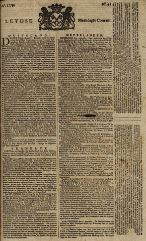 Leydse Courant 1779-08-16
