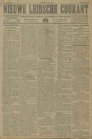 Nieuwe Leidsche Courant 1927-07-01