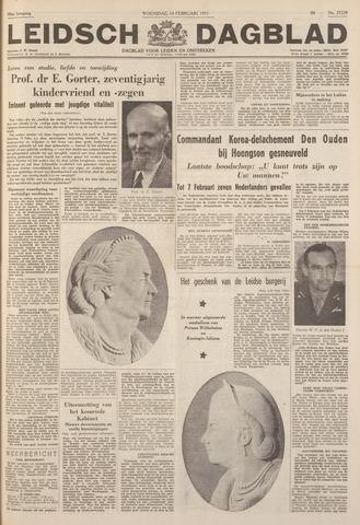 Leidsch Dagblad 1951-02-14