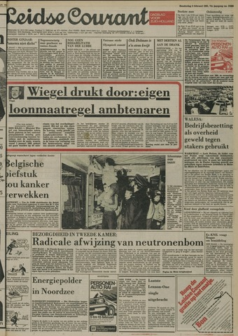 Leidse Courant 1981-02-05