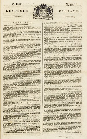 Leydse Courant 1843-01-27