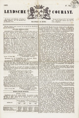 Leydse Courant 1865-06-12