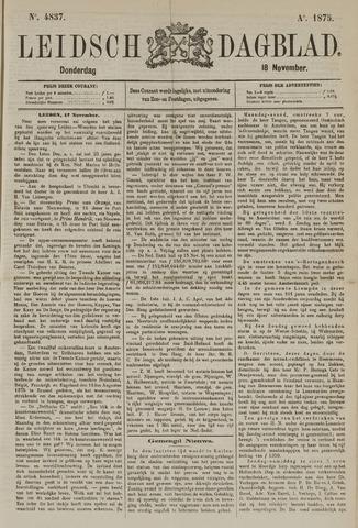 Leidsch Dagblad 1875-11-18