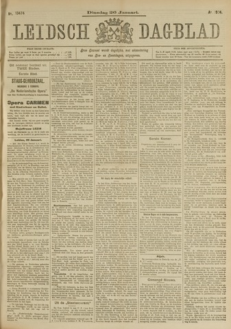 Leidsch Dagblad 1904-01-26