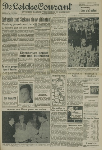 Leidse Courant 1958-02-20