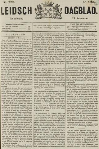 Leidsch Dagblad 1868-11-19