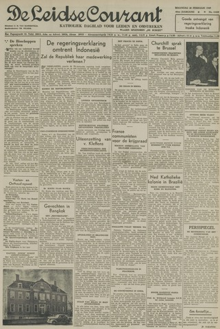 Leidse Courant 1949-02-28