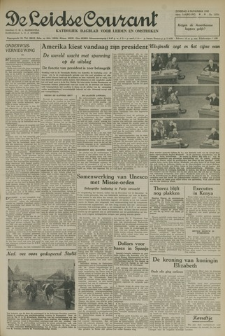 Leidse Courant 1952-11-04