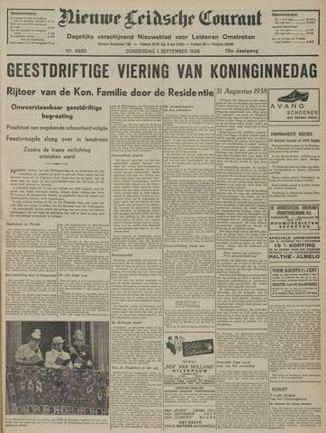 Nieuwe Leidsche Courant 1938-09-01