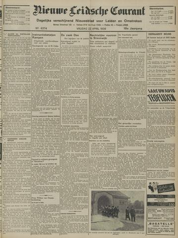 Nieuwe Leidsche Courant 1938-04-22
