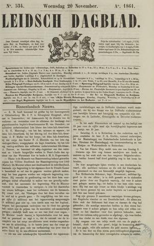 Leidsch Dagblad 1861-11-20