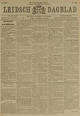 Leidsch Dagblad 1904-04-21