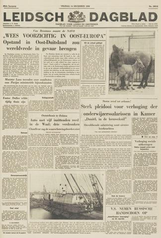 Leidsch Dagblad 1956-12-14