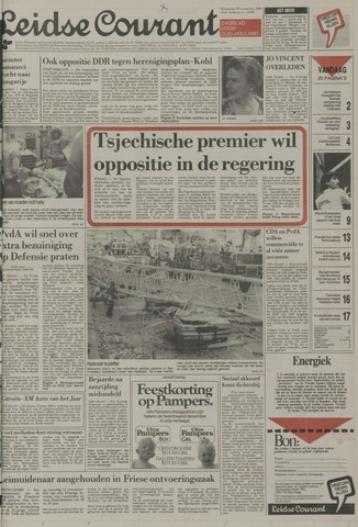 Leidse Courant 1989-11-29