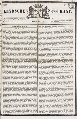 Leydse Courant 1865-03-03