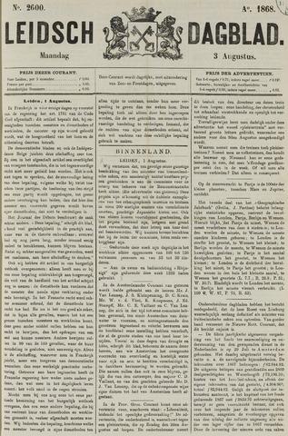 Leidsch Dagblad 1868-08-03