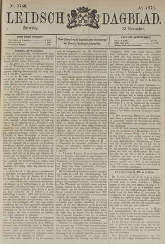 Leidsch Dagblad 1878-11-23